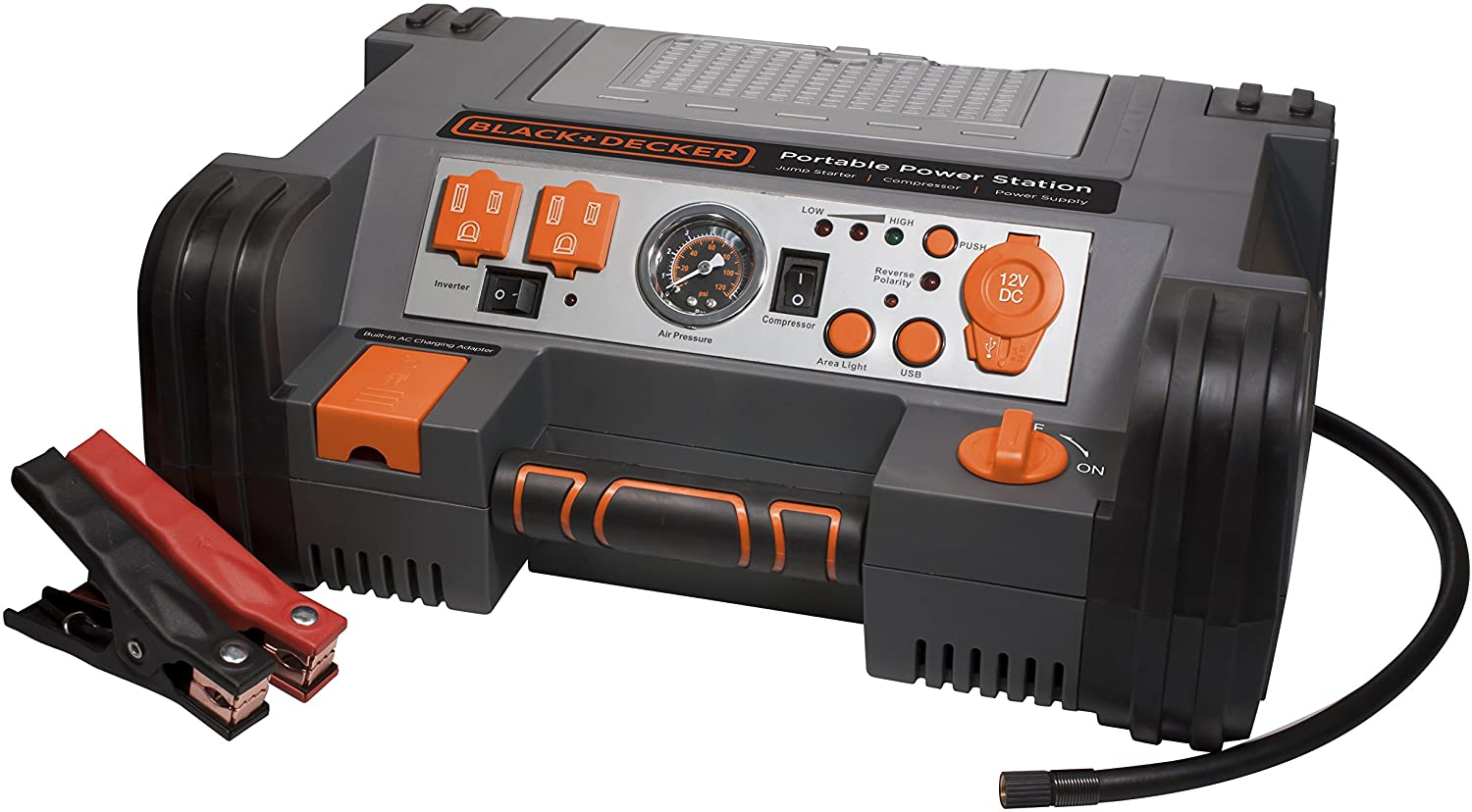 BLACK+DECKER PPRH5B 1000 Peak Amp Professional Power Station with 120psi Air Compressor Review