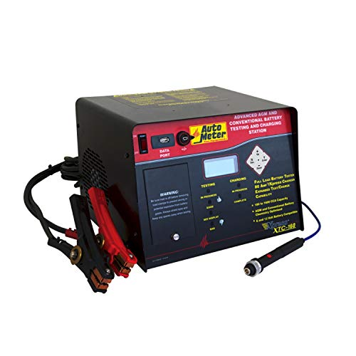 Auto Meter XTC-160 AGM Optimized Automatic Battery Tester and Fast Charger