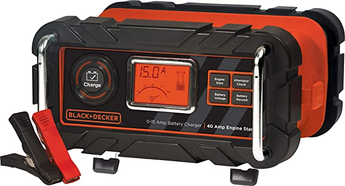 Black + Decker BC15BD Car Battery Charger