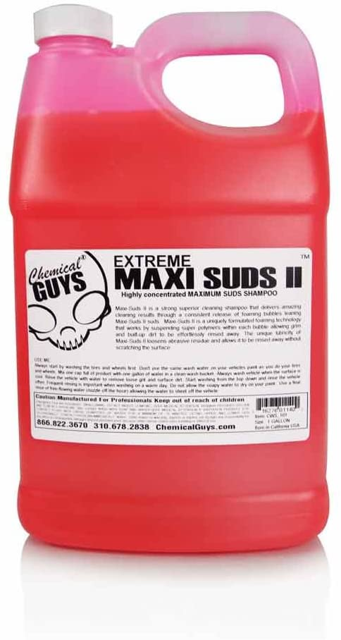 Chemical Guys CWS_101 Maxi-Suds II Super Suds Car Wash